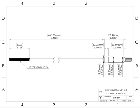 Kent-USA-Draw-Bar-KTM-3VKF-DB-344-Measurements-Site-Main