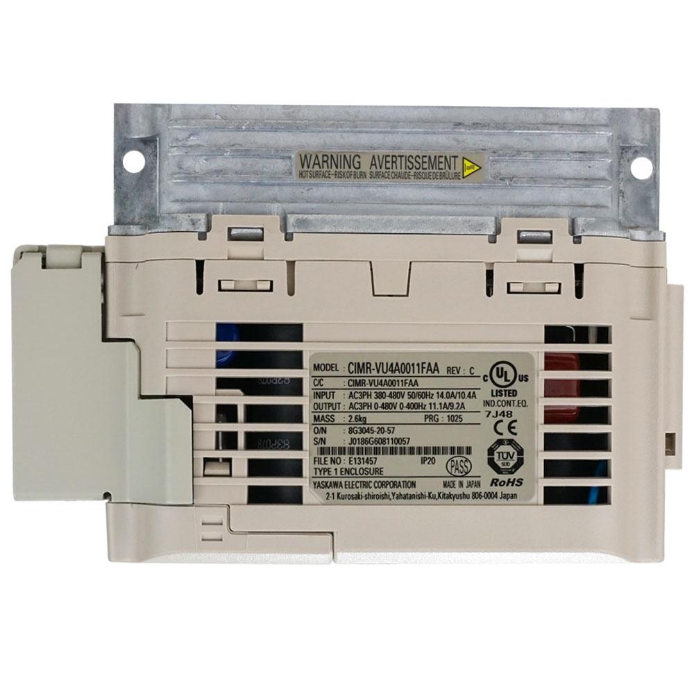 Yaskawa V1000 Variable Frequency Drive for 440V Mills CIMR-VU2A0020FAA